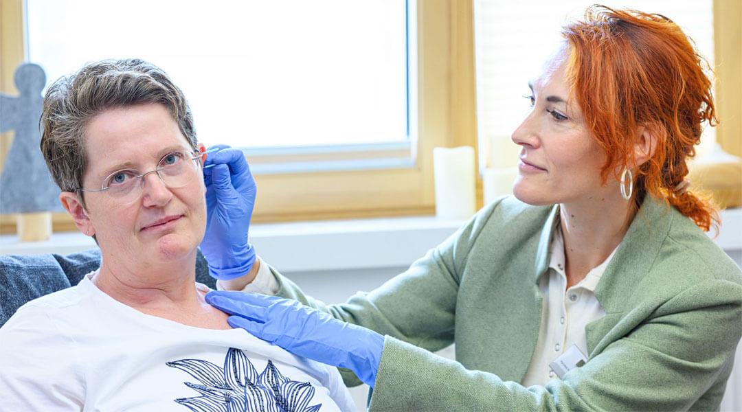 Ohrakupunktur in der Park Klinik