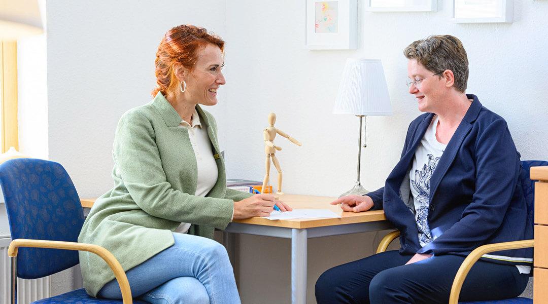 Beratung Gespräch in der Park Klinik