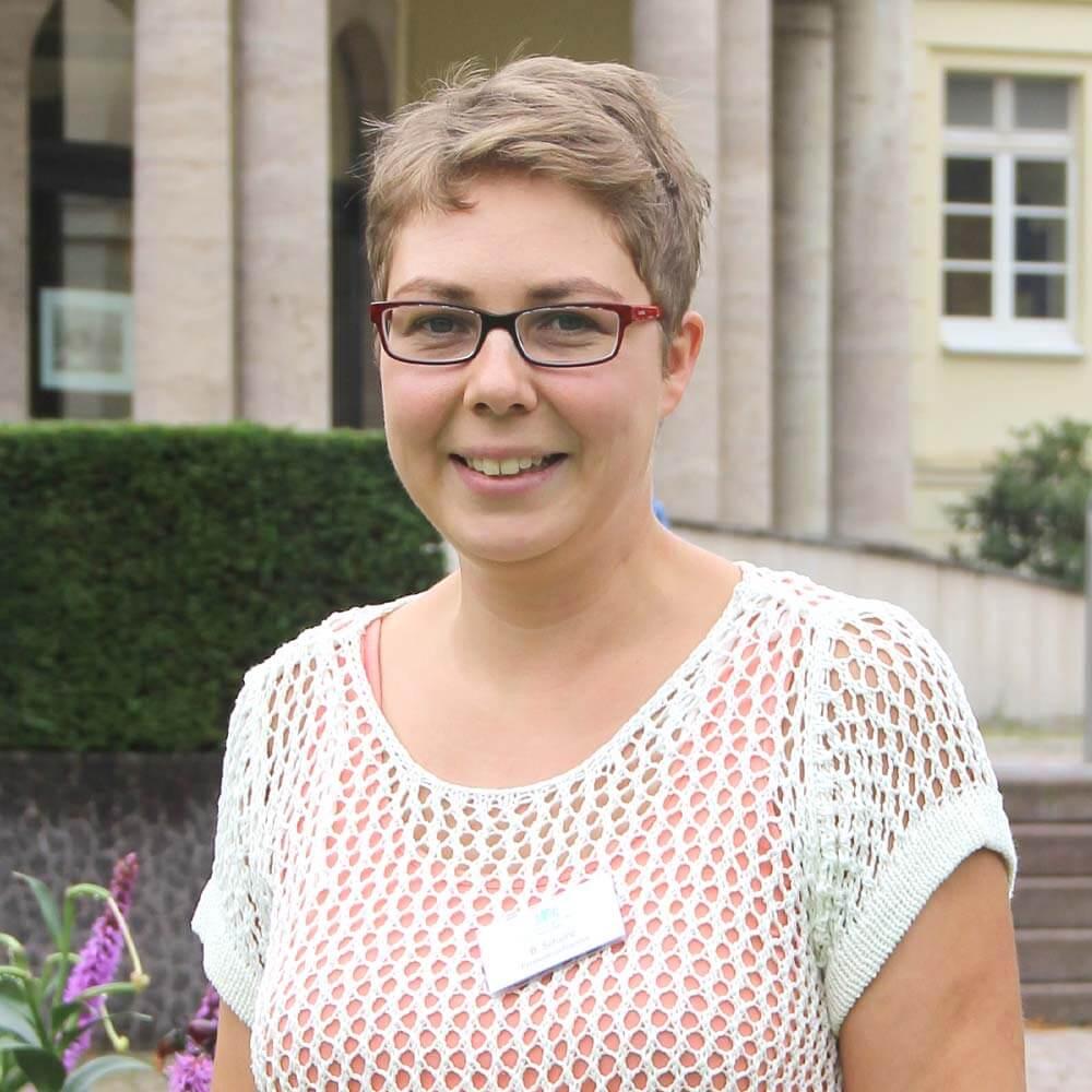 Britta Scholle Patientenaufnahme Park Klinik