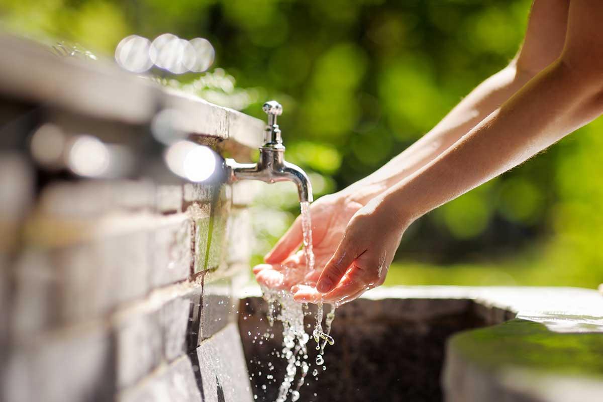 Unsere Naturheilmittel Wasser