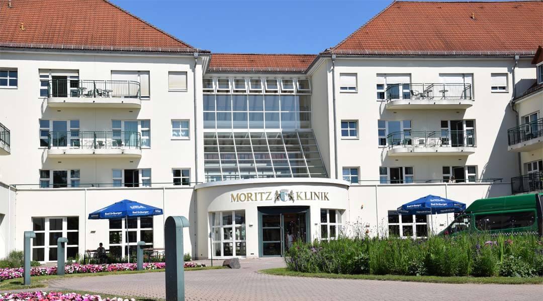 Der Eingangsbereich der Moritz Klinik