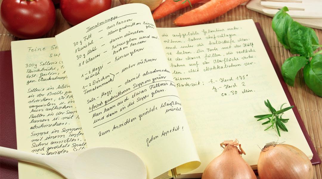 Rezepte aus der Lehrküche