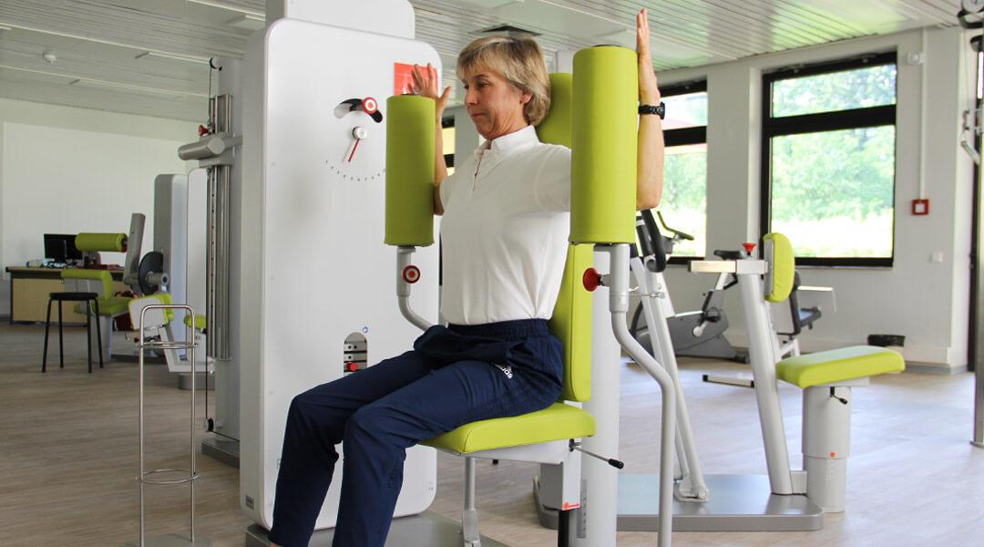 Training Schultermuskulatur Gerätetraining Park Klinik